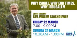Why Israel, Why End Times, Why Jerusalem @ National Christian Outreach Centre